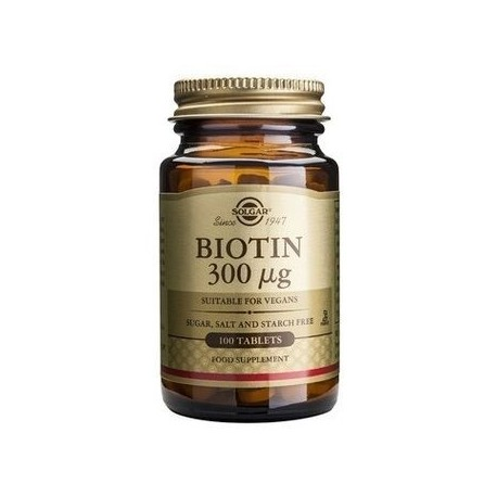 SOLGAR BIOTIN 300μg 100vcaps