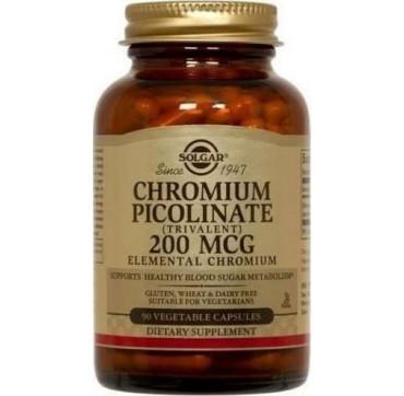 Solgar Chromium Picolinate 200μg 90vcaps