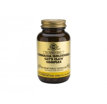 SOLGAR ECHINACEA/GOLDSEAL/CATS CLAW 60vcaps