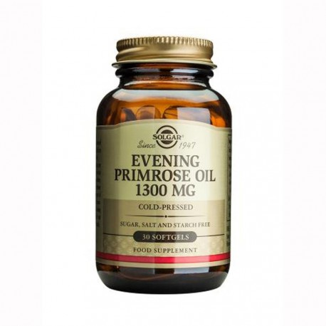 SOLGAR EVENING PRIMROSE OIL 1300mg 30soft.gels