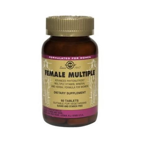 Solgar Female Multiple 60tabs