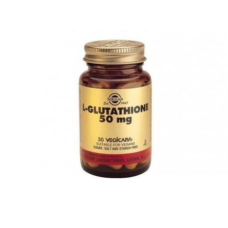 SOLGAR L-GLUTATHIONE 50mg 30vcaps