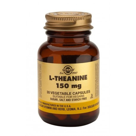 Solgar L-theanine 150mg 30vcaps