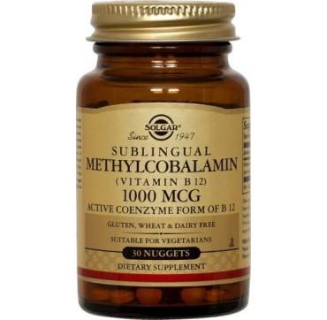 Solgar Methylcobalamin 1000μg 30nuggets