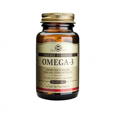 SOLGAR OMEGA-3 DOUBLE STRENGTH 30softgels