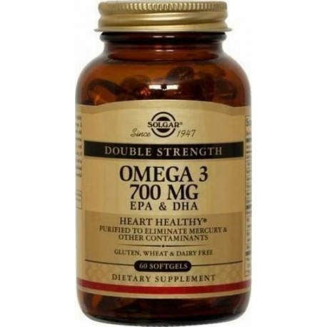 Solgar Omega-3 Double Strength 60softgels