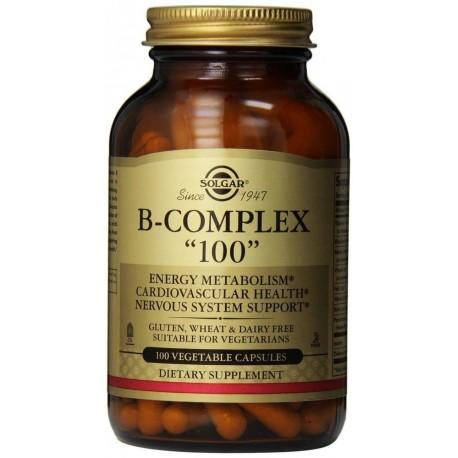Solgar Vitamin B-100 Complex 100vcaps