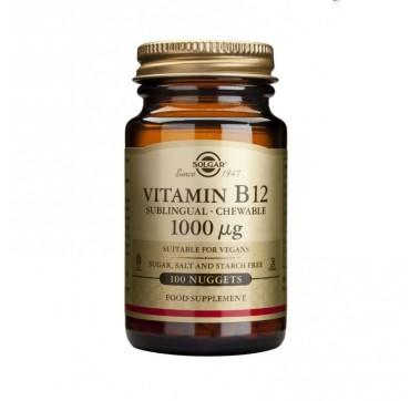 Solgar Vitamin B 12 1000mcg 100 Nuggets