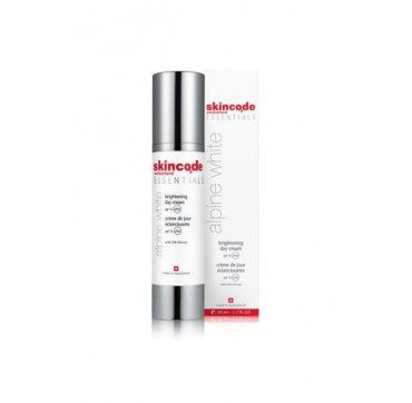 SKINCODE ALPINE ESSENTIALS WHITE BRIGHTENING DAY CREAM SPF 15 50ml