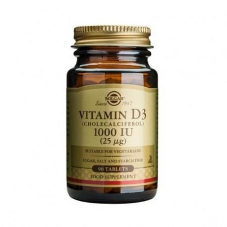 Solgar Vitamin D3 1000iu 90tabs.