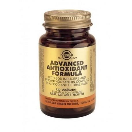 SOLGAR ADVANCED ANTIOXIDANT FORMULA 120vcaps