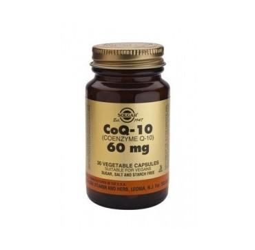 Solgar Co-q-10 60mg 30vcaps