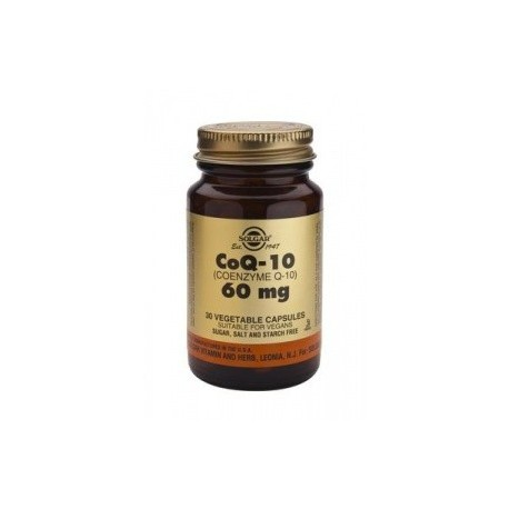 SOLGAR CO-Q-10 60mg 30vcaps