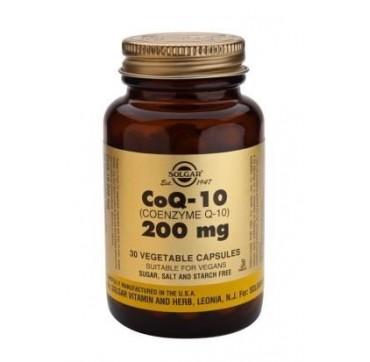 SOLGAR CO-Q-10 200mg 30vcaps