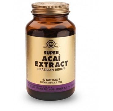 SOLGAR SUPER ACAI EXTRACT 50softgels