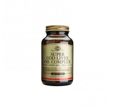 SOLGAR SUPER COD LIVER OIL COMPLEX 60softgels