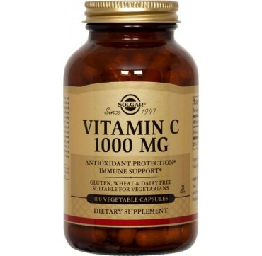 SOLGAR VITAMIN C 1000mg 100caps
