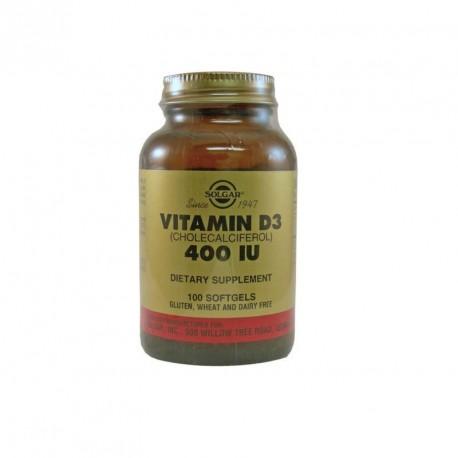 Solgar Vitamin D3 400iu 100caps