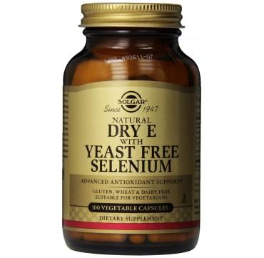 Solgar Vitamin-e +selenium 100caps