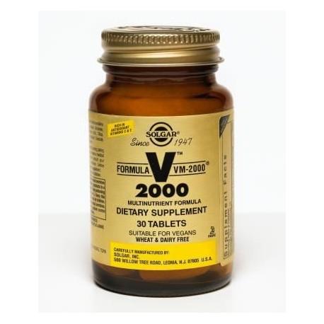 Solgar Vm 2000 30tabs