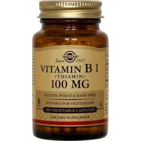 SOLGAR VITAMIN B1 100mg 100caps