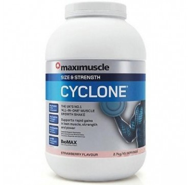 MAXINUTRITION MAXIMUSCLE CYCLONE ΦΡΑΟΥΛΑ 2,7kg