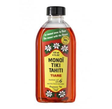 Monoi Tiki Tahiti Tiare Solair Λάδι Μαυρίσματος Spf6 120ml