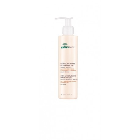 NUXE 24HR MOISTURISING BODY LOTION FLUIDE 200ml