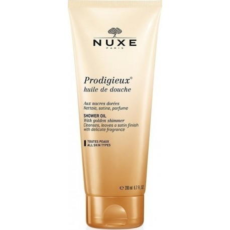 NUXE PRODIGIEUX SHOWER OIL ALL SKIN TYPES 200ml