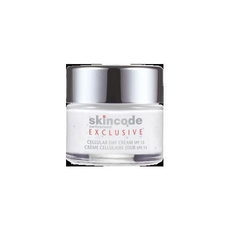 SKINCODE EXCLUSIVE CELLULAR DAY CREAM SPF 15 50ml