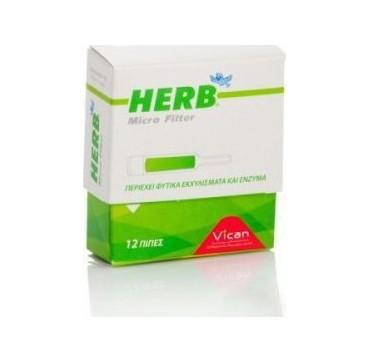 Vican Herb Micro Filter 12 Πίπες