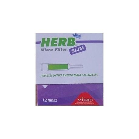 VICAN HERB MICRO FILTER SLIM 12πιπες