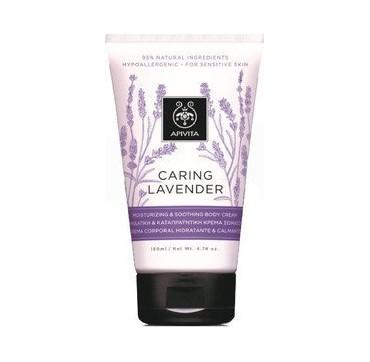 Apivita Caring Lavender Ενυδατική Και Καταπραϋντική Κρέμα Σώματος 150ml
