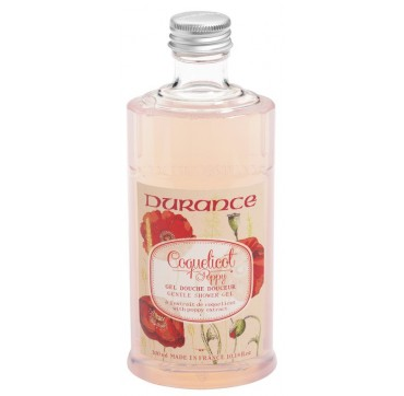 DURANCE SHOWER GEL POPPY 300ml