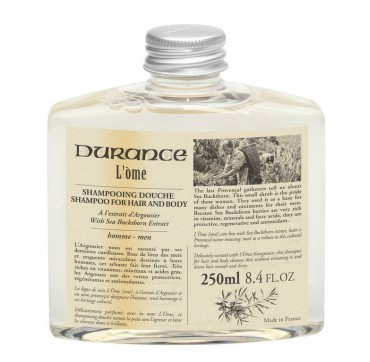 DURANCE L'OME HAIR & BODY WASH SEA BUCKTHORN EXTRACT 250ml
