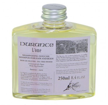 DURANCE L'OME HAIR & BODY WASH FIG EXTRACT 250ml