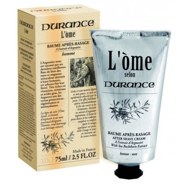 DURANCE L'OME AFTER SHAVE CREAM SEA BLUCKTHORN EXTRACT 75ml