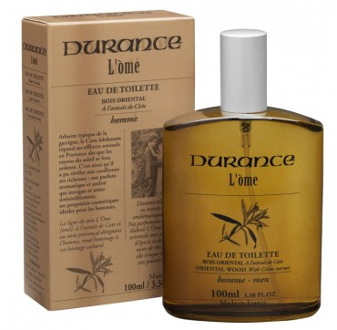 DURANCE L' OME EDT ΚΟΛΩΝΙΑ ΑΝΤΡΙΚΗ ORIENTAL WOOD WITH CITRUS EXTRACT 100ml