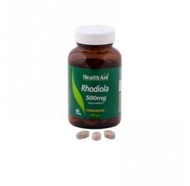 HEALTH AID RHODIOLA ROOT EXTRACT 500mg 60tabs