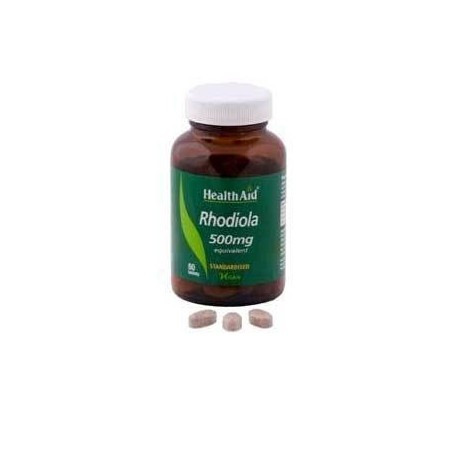 HEALTH AID RHODIOLA ROOT EXTRACT 500mg 60tabs