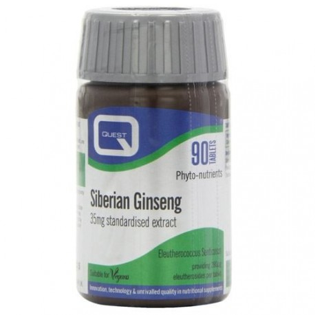 QUEST SIBERIAN GINSENG 35mg 90tabs