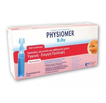 Physiomer Αμπούλες Μονοδοσεις 30τεμ