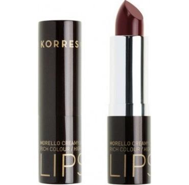Korres Morello Creamy Lipstick No59 Burgundy Red 3.5gr