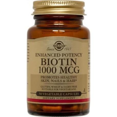 SOLGAR BIOTIN 1000μg 50vcaps