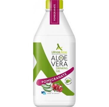 Litinas Πόσιμο Aloe Vera Gel Γεύση Ρόδι 1000ml