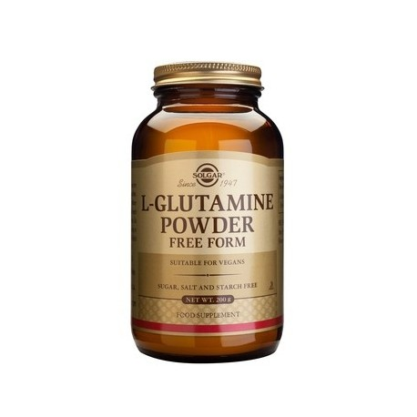 SOLGAR L-GLUTAMINE POWDER 200gr