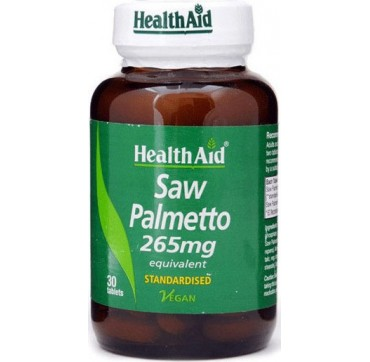 HEALTHAID SAW PALMETTO 265MG 30TABS