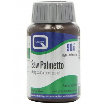 QUEST SAW PALMETTO 36mg EXTRACT 90tabs