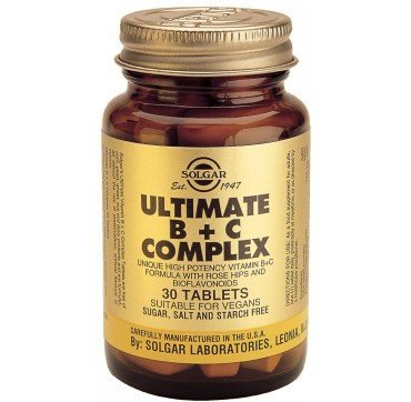 Solgar Ultimate B+c Complex 30tabs