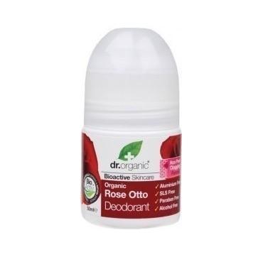 Dr Organic Rose Otto Roll-on Deodorant 50ml